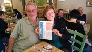 Renato and Anna Maria, Emilia Romagna representatives for ADHD organisation AIFA Onlus