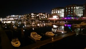 Harbour at night