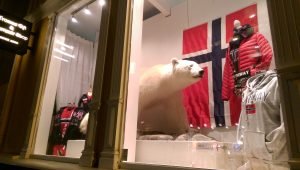 The only polar bears in Tromsø are stuffed