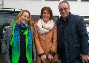 Mentors Linda Nygård, Aud Solveig Reitan and Arve Hasfjord