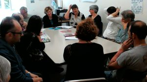 Sharing information and peer support with parents in the Ospedale Psichiatrico Provinciale Roncati